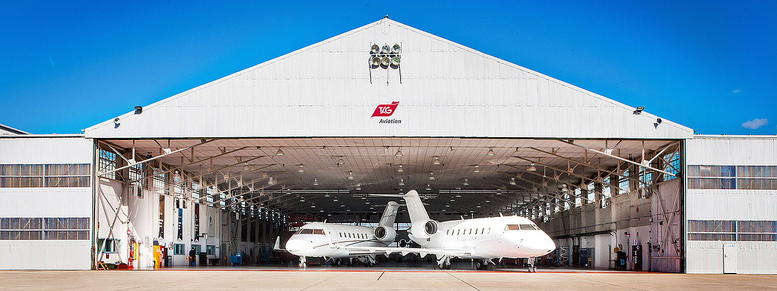 TAG Aviation Completes Second 120- Month Inspection on Global Express Aircraft